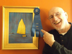 Tim Ames and Yellow Sail
