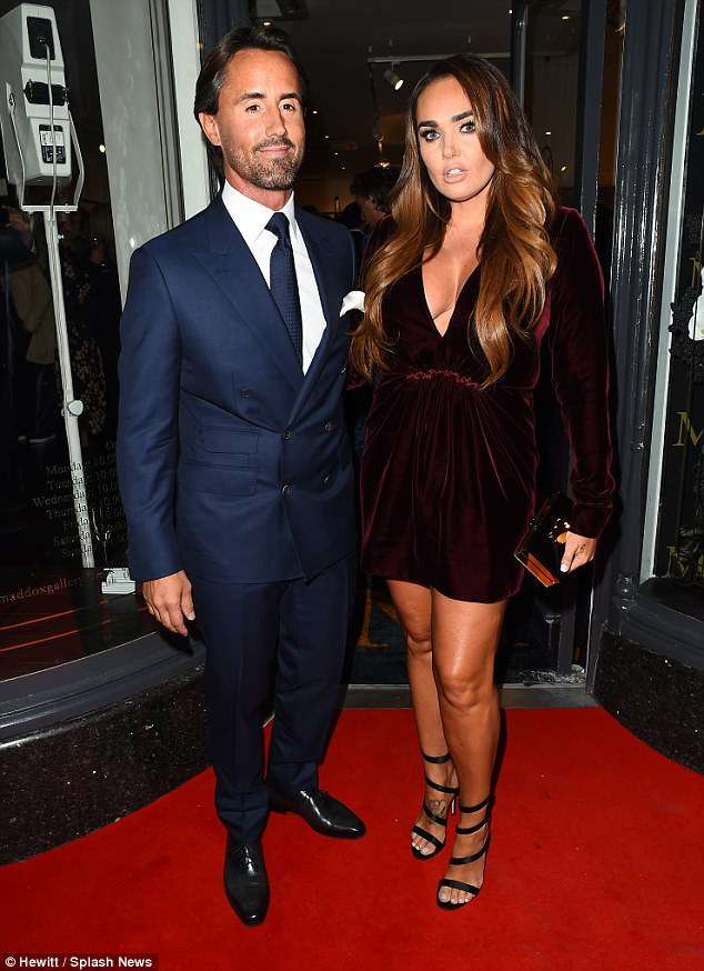 Happy love life: Tamara Ecclestone has insisted that her love life with Jay Rutland is 'more creative' now that they have a daughter together