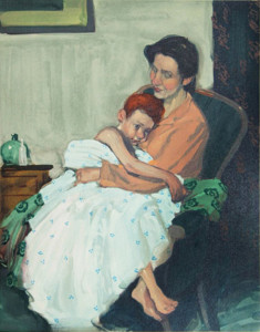 Mother and Child by Malcolm Liepke