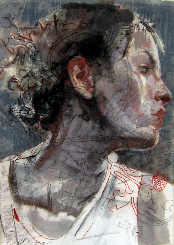 Thoughts of Loves Past by Charles Dwyer - Fine Art Gallery